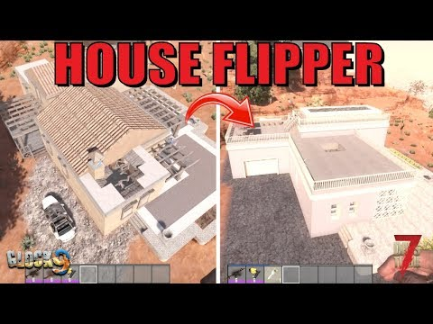 7 Days To Die - House Flipper (Military Bunker)