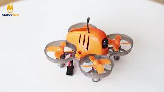 Using Makerfire Armor 65 Lite to Flying around Makerfire's Office! How about It?