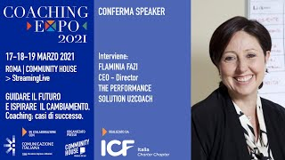 Youtube: Coaching Expo 2021 |Open Talk| IL COACHING A SUPPORTO DEL CAMBIAMENTO IN AZIENDA