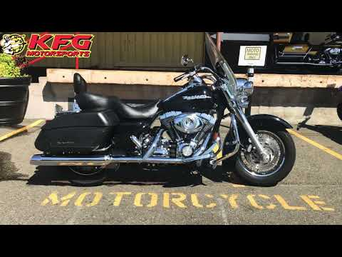 2007 Harley-Davidson FLHRS Road King® Custom in Auburn, Washington - Video 1