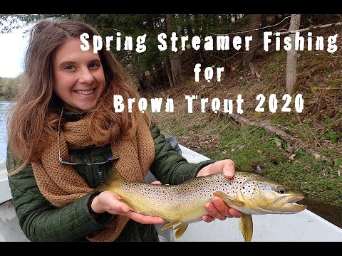 Spring Streamer Fishing