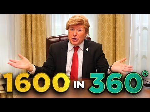 Inside Trump's Oval Office (in 360!)