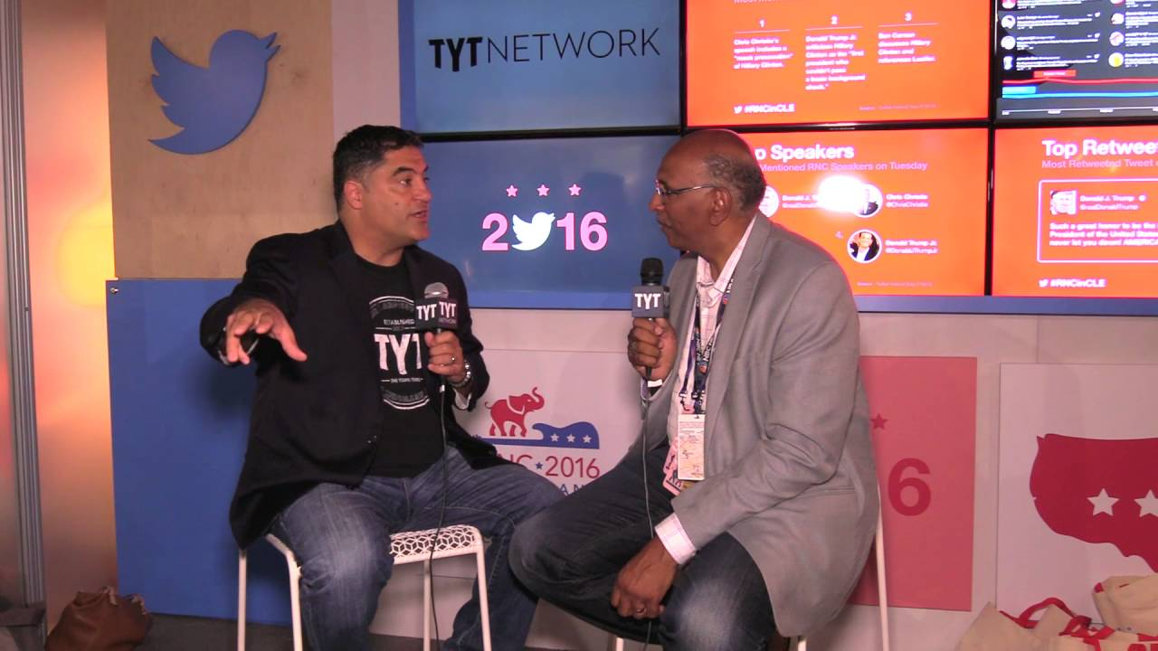 Michael Steele Interview With Cenk Uygur At 2016 RNC thumbnail