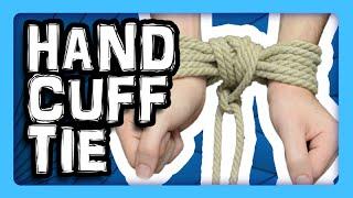 Handcuff Tie (Anglais)