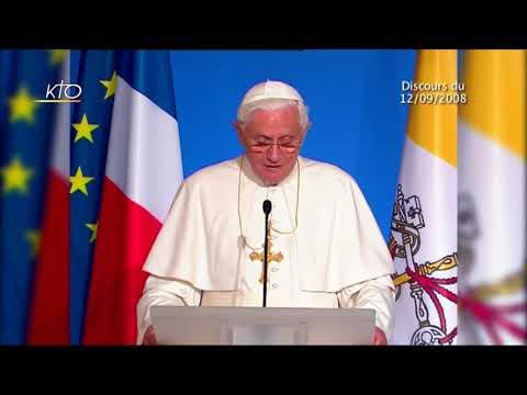 Les discours du Pape en France