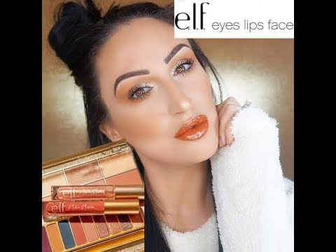 DRUGSTORE FALL MAKEUP TUTORIAL USING NEW ELF MODERN METALS COLLECTION