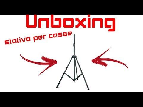 Unboxing Stativo Gemini per CASSE