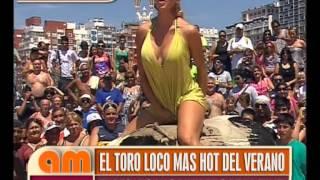 """El Toro Loco Más Hot del Verano con Vanina de """"Fiestisima"""" - AM"""