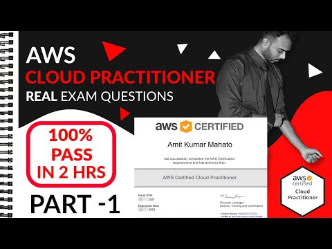 AWS Certification Exam Questions : Cloud Practitioner - Part 1 ...