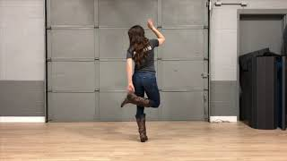 Footloose Line Dance Instruction