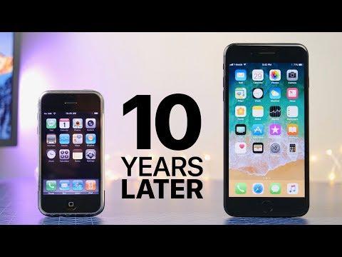 iOS 1.0 vs iOS 11, dieci anni a confronto con il mitico iPhone Edge