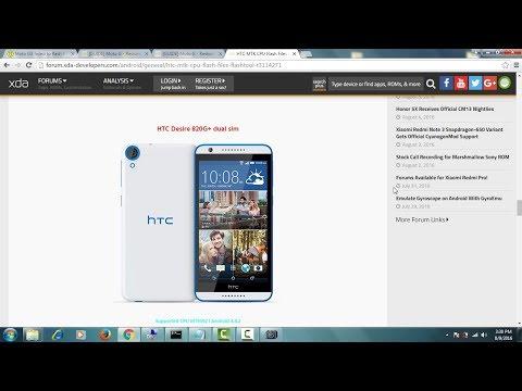 How To Flash HTC D820U OPFJ100 htc {820,820s,820u,820G} software