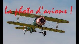 Réussissez facilement vos photos d'avions !