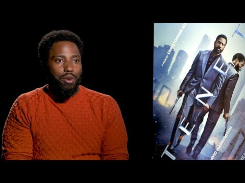 John David Washington on new movie Tenet and protests in U.S.