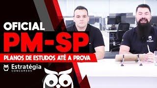 Concurso PM-SP Oficial: Planos de Estudos até a Prova - Profs. Paulo Bilynskj e Luis Eduardo.