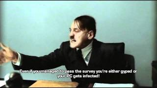 Hitler's opinions on the Watch X Online/Game Keygen scams.