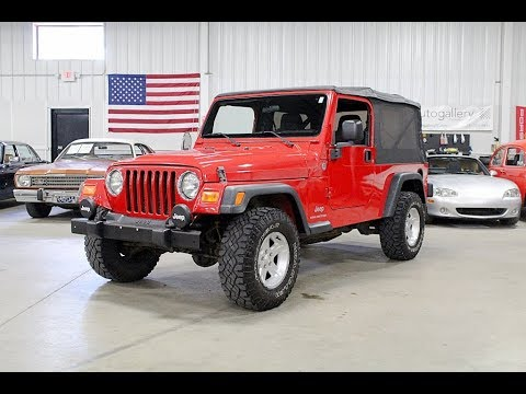 Video of '06 Jeep Wrangler located in Kentwood Michigan - $12,900.00 Offered by GR Auto Gallery - QF7K