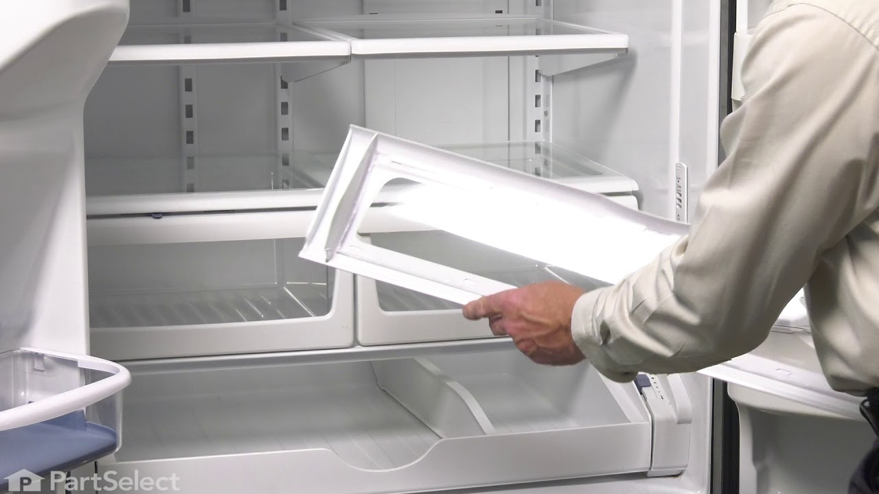 Replacing your Maytag Refrigerator Refrigerator Pantry Drawer Door Cover