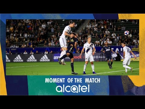 5676dbf9f4f Alcatel Moment of the Match: Zlatan towers over the Philadelphia defense to  open the scoring
