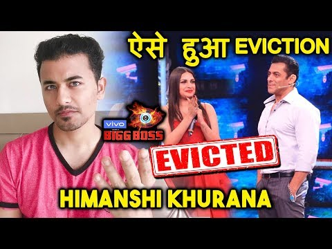 Bigg Boss 13 | Himanshi Khurana EVICTED | BIG TWIST | This Is How She Got Evicted