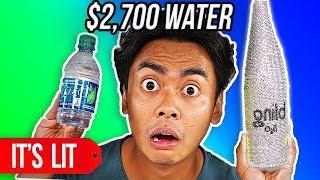 $1 VS $2700 WATER BOTTLE!