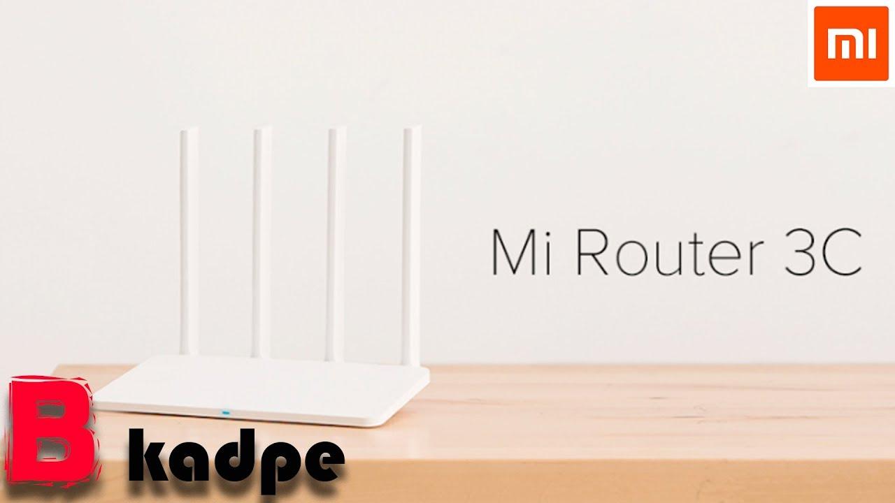Видео Xiaomi Mi Router 3C