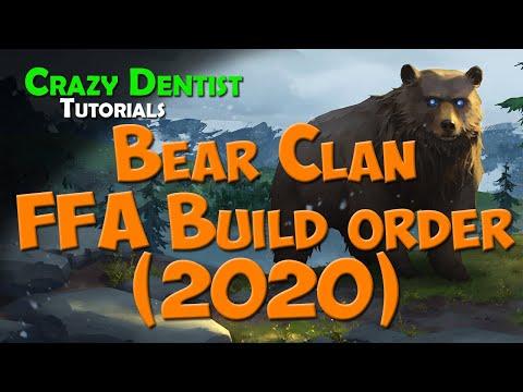 Bear Clan FFA Build Order | Northgard