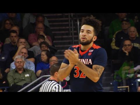 MEN'S BASKETBALL - Virginia vs. Notre Dame Highlights