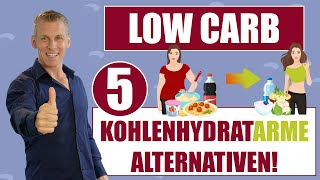 Low Carb - 5 kohlenhydratarme Alternativen!