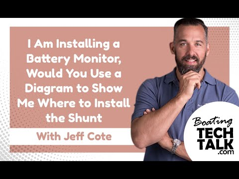 I Am Installing a Battery Monitor, Would You Use a Diagram to Show Me Where to Install the Shunt?