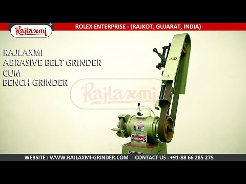 1HP Single Side Abrasive Belt Cum Bench Grinder