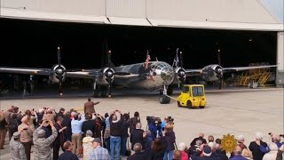 Restored B-29 takes to the air