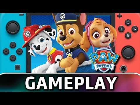 PAW Patrol: On a Roll! | First 60 Minutes on Nintendo Switch