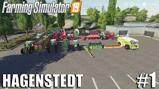 This is Where It All Started | Hagenstedt | Timelapse #1 | Farming Simulator 19 Timelapse