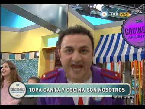 Diego Topa en Cocineros, El baile de la selva