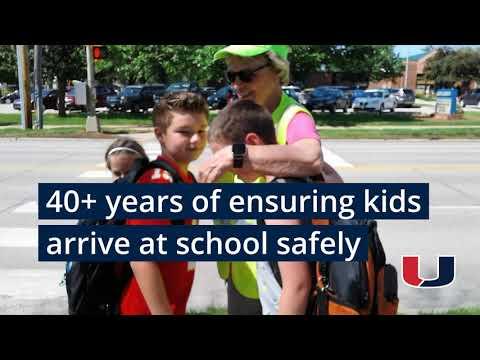 Jensen Elementary Celebrates Beloved Crossing Guard