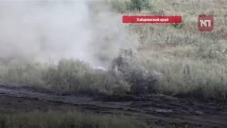 В рамках военных манёвров «Восток-2018» на полигоне Бикинский прошли тактические учения