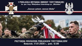 Film do artykułu: Podlascy Terytorialsi w...
