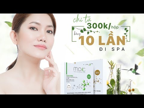 REVIEW MẶT NẠ SINH HỌC COLLAGEN M.O.C
