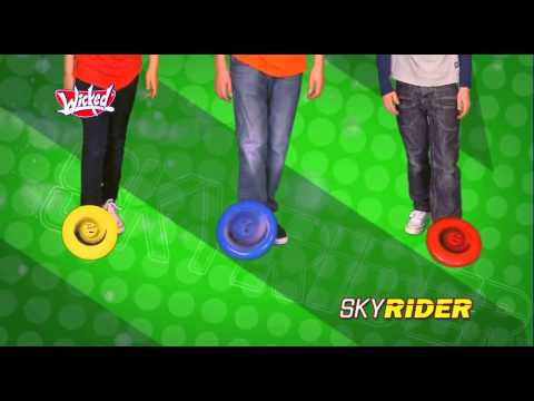 Wicked Sky Rider Ultimate Flying Disc - video