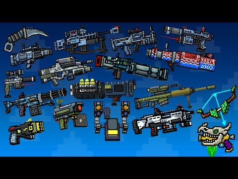 Pixel Gun 3D - All New Weapons Damage + Reloading Animation (15.9.0 - 15.9.1)