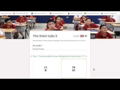 Tạo bài chấm trắc nghiệm online, chấm và công bố điểm ngay cho học sinh