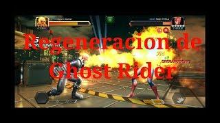 Ghost Rider y Su regeneración/Marvel Batalla de Superheroes