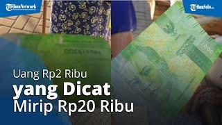 Kisah Penjual Nasi Pecel Dibayar Uang Rp2 Ribu yang Dicat Mirip Rp20 Ribu: Nominal Segitu kok Menipu