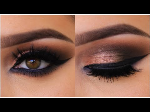 Bronze Smokey Cat Eye Tutorial