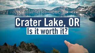 Whats It Like? Crater Lake National Park In Oregon...