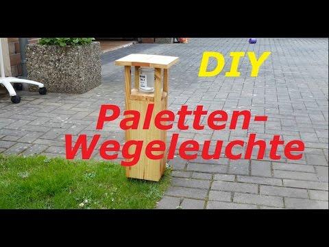 DIY Wegeleuchte/Pollerleuchte - einfach gemacht