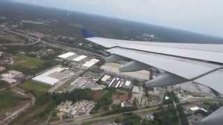 Delta Flight DL240 Atlanta Takeoff to Rome-Fiumicino, May 2014