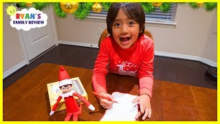 Ryan writes a letter to Santa for Presents he wants for Christmas!
