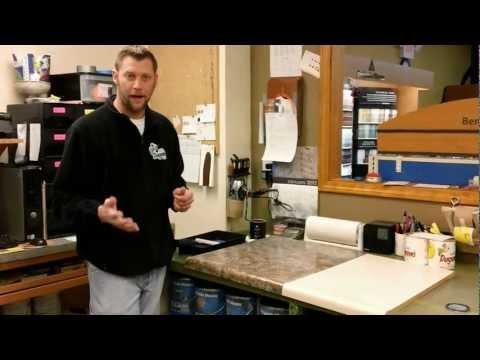 How to make your countertop look like granite